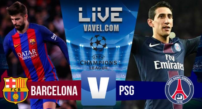 Resultado e gols jogo Barcelona 6x1 PSG na Champions League 2017