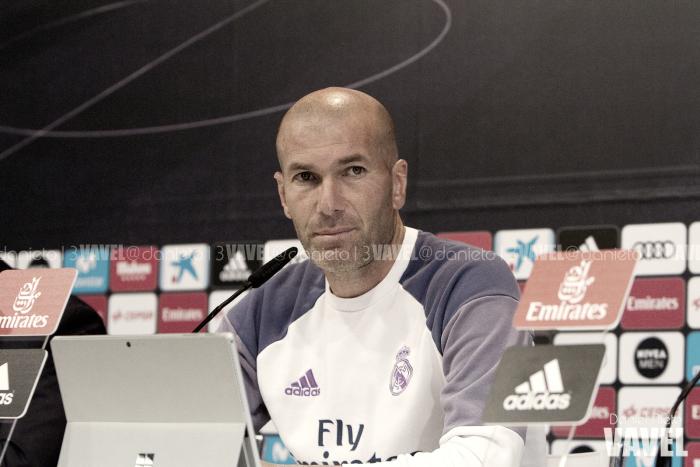 """Zidane: """"Fue un partido serio, y el resultado es muy bueno"""""""