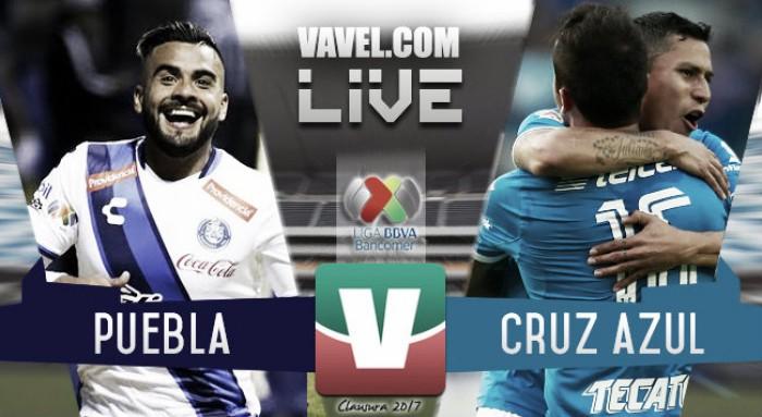 Resultado del Puebla 0-0 Cruz Azul de la Liga MX 2017