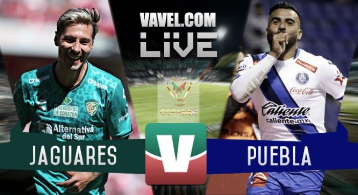 Resultado y goles del Chiapas 2-3 Puebla de la Copa MX 2017