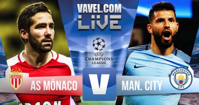 Resultado Monaco x Manchester City na Champions League (3-1)