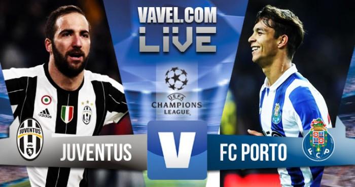 Partida Juventus x FC Porto na Liga dos Campeões 2017