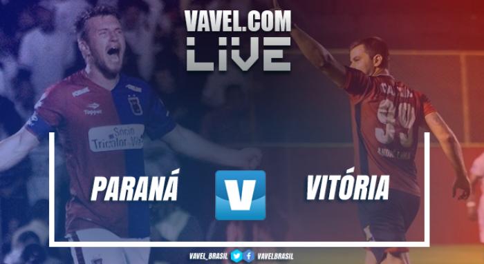 Jogo Paraná x Vitória AO VIVO hoje pela Copa do Brasil 2017 (0-0)
