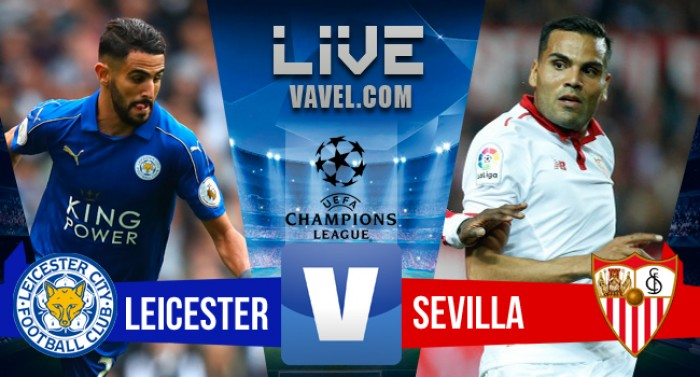 Partida Leicester City x Sevilla na UEFA Champions League 2017