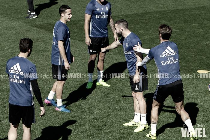 """Morata, Nacho y Lucas pasan con nota el """"test de amistad"""" sobre Carvajal"""