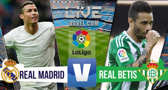 Resumen partido real madrid vs betis 2 1 for Juego de real madrid