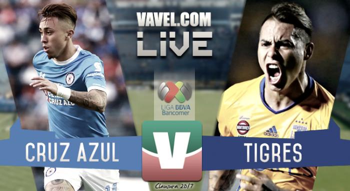 Resultado y goles del Cruz Azul 0-0 Tigres en Liga MX 2017