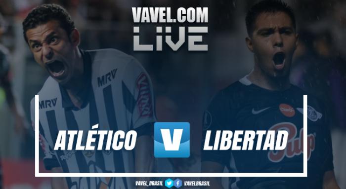 Resultado Atlético-MG x Libertad pela Copa Libertadores (2-0)