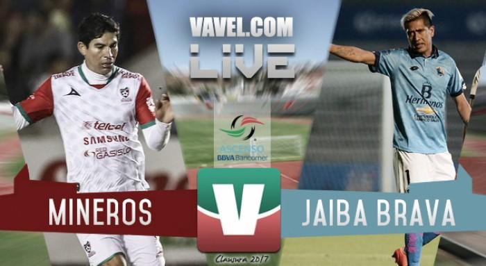 Resultado y goles del Mineros vs Tampico Madero en Ascenso MX 2017 (2-1)