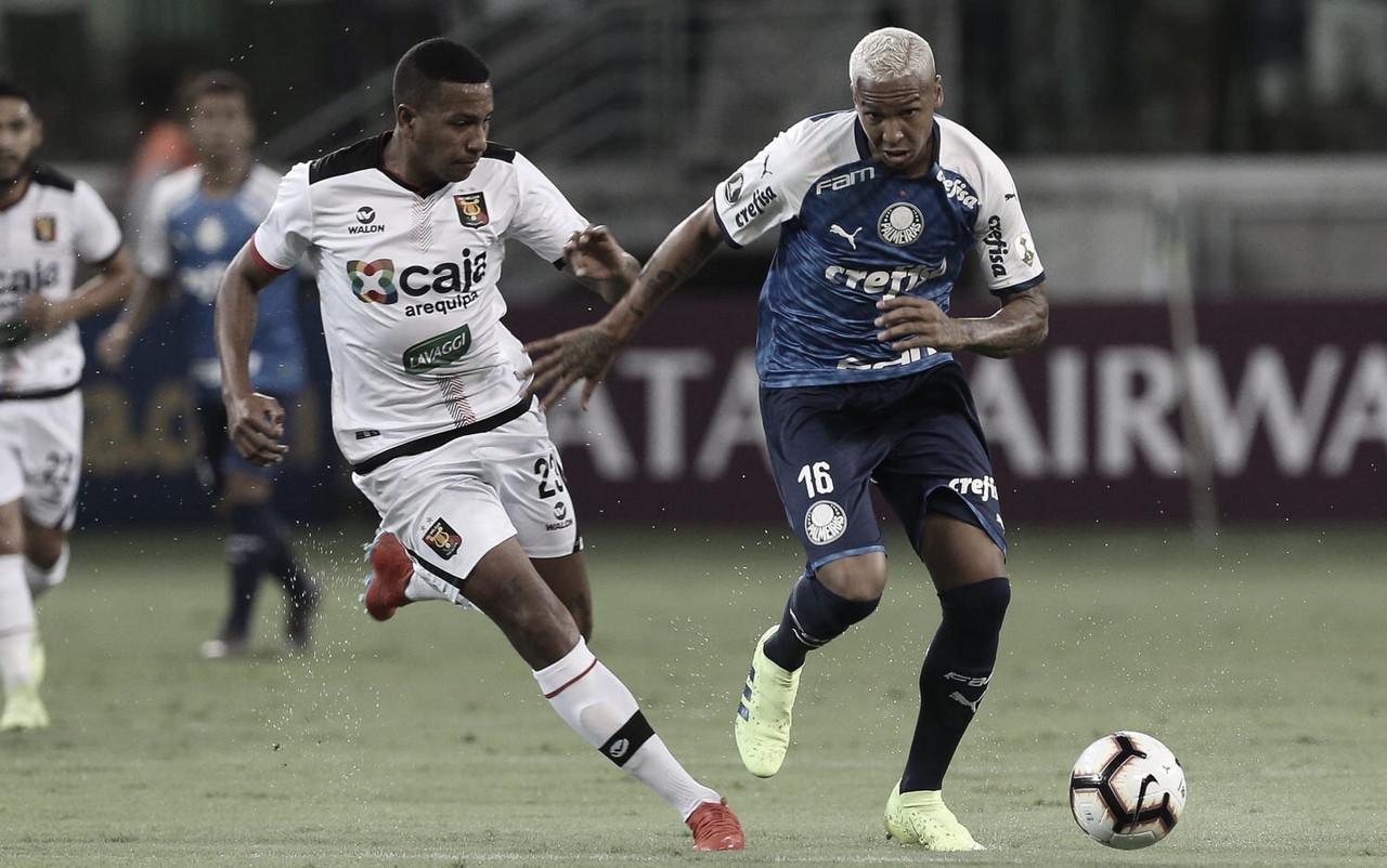 No Peru, Palmeiras busca classificação diante do Melgar pela Libertadores