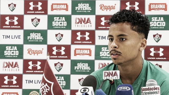"""Allan fala sobre sua volta ao Brasil e elogia Fluminense: """"Vim para o lugar certo e é aqui que vou ficar"""""""
