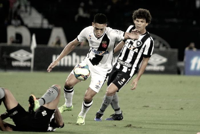 Com boa atuação dos goleiros, Vasco e Botafogo empatam no Nilton Santos