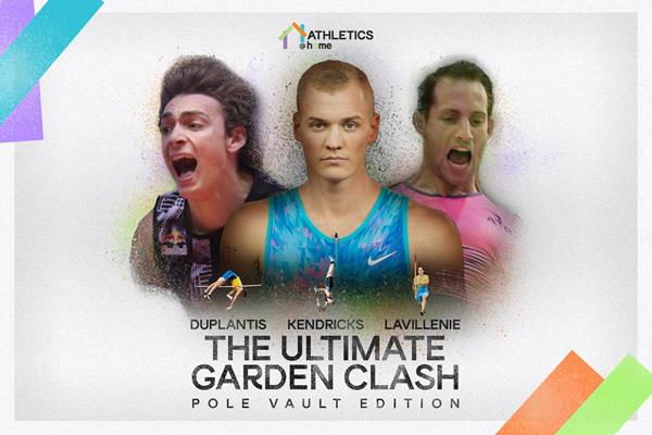 """The Ultimate Garden Clash Pole Vault Edition"": Un duelo de pértigas en el jardín de casa"
