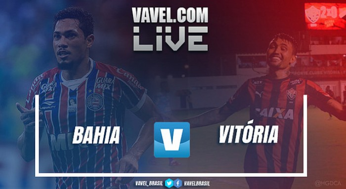 Resultado Bahia x Vitória pela final do Campeonato Baiano 2017 (1-1 ... ceef47ba01bbb