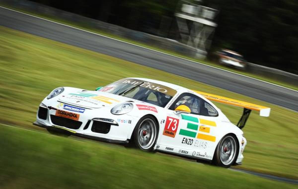 Enzo Elias confiante para segunda etapa da Porsche Carrera Cup Brasil em Interlagos