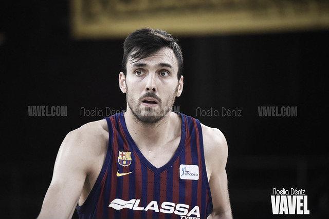 Pierre Oriola y Víctor Claver hablaron en la previa del partido ante el Valencia Basket