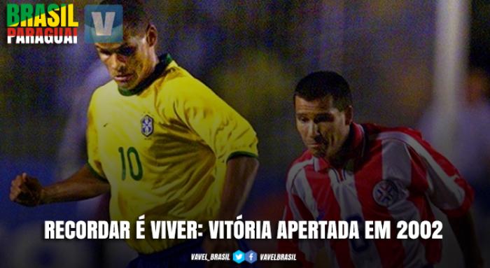 Recordar é viver: em 2001, Rivaldo é decisivo em suada vitória do Brasil diante do Paraguai