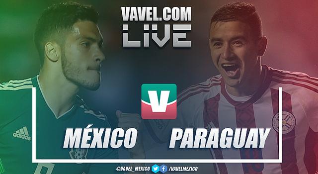 Resultado y goles del México (4-2) Paraguay