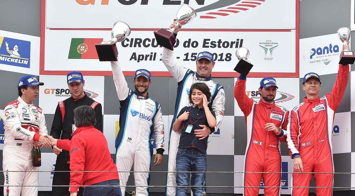 Allam Khodair e Marcelo Hahn vencem pelo GT Open em Portugal
