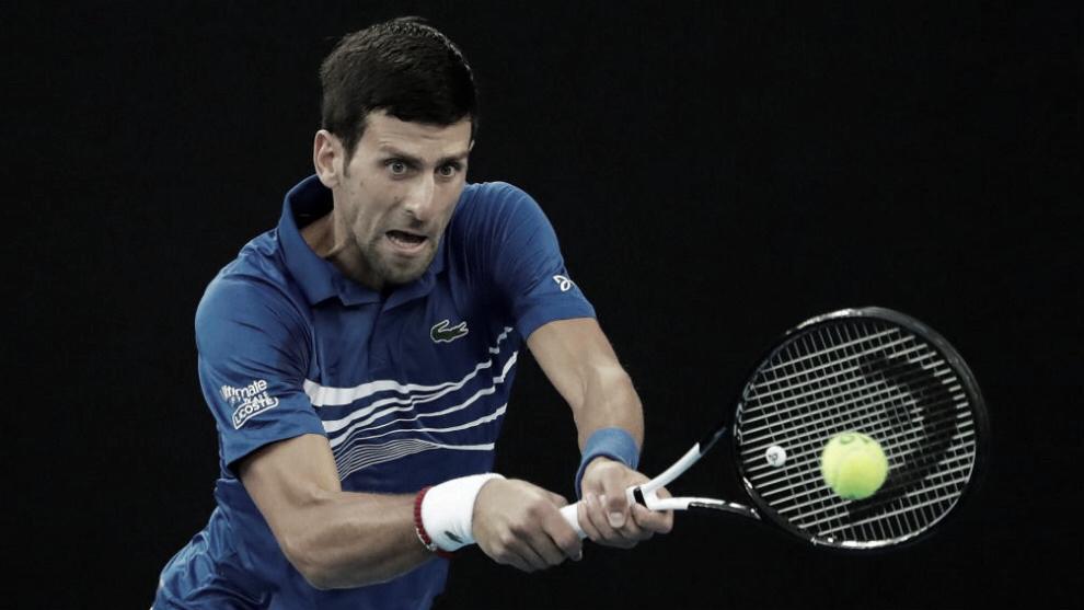 Novak Djokovic aplasta en sets corridos a Lucas Pouille y es finalista en Melbourne