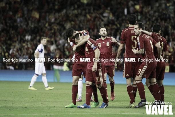 España jugará en el grupo más duro de la Eurocopa 2016