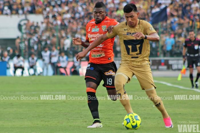 Resultado y goles del Chiapas 0-3 Pumas de la Liga MX Clausura 2017