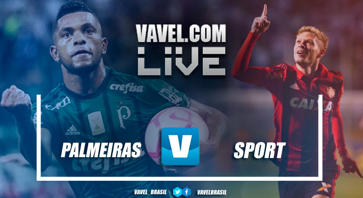 Palmeiras perde para o Sport pelo Campeonato Brasileiro 2018 (2-3)