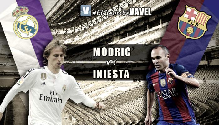 Modric vs Iniesta, duelo de Magos