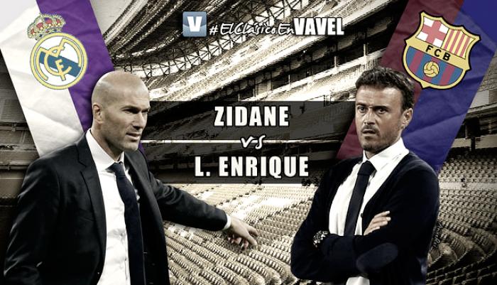 Zidane vs Luis Enrique: del campo, a los banquillos