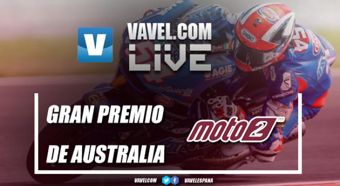 Resumen del GP de Australia de Moto2