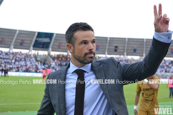 """Rafael Puente del Río: """"Gracias al esfuerzo de los jugadores estamos en Primera"""""""