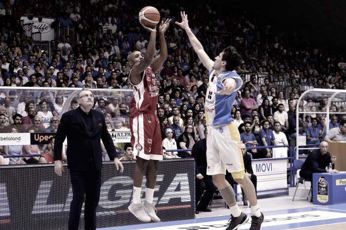 Risultato Capo D'Orlando 62-77 EA7 Milano in gara-4 playoffs Legabasket: Olimpia in semifinale