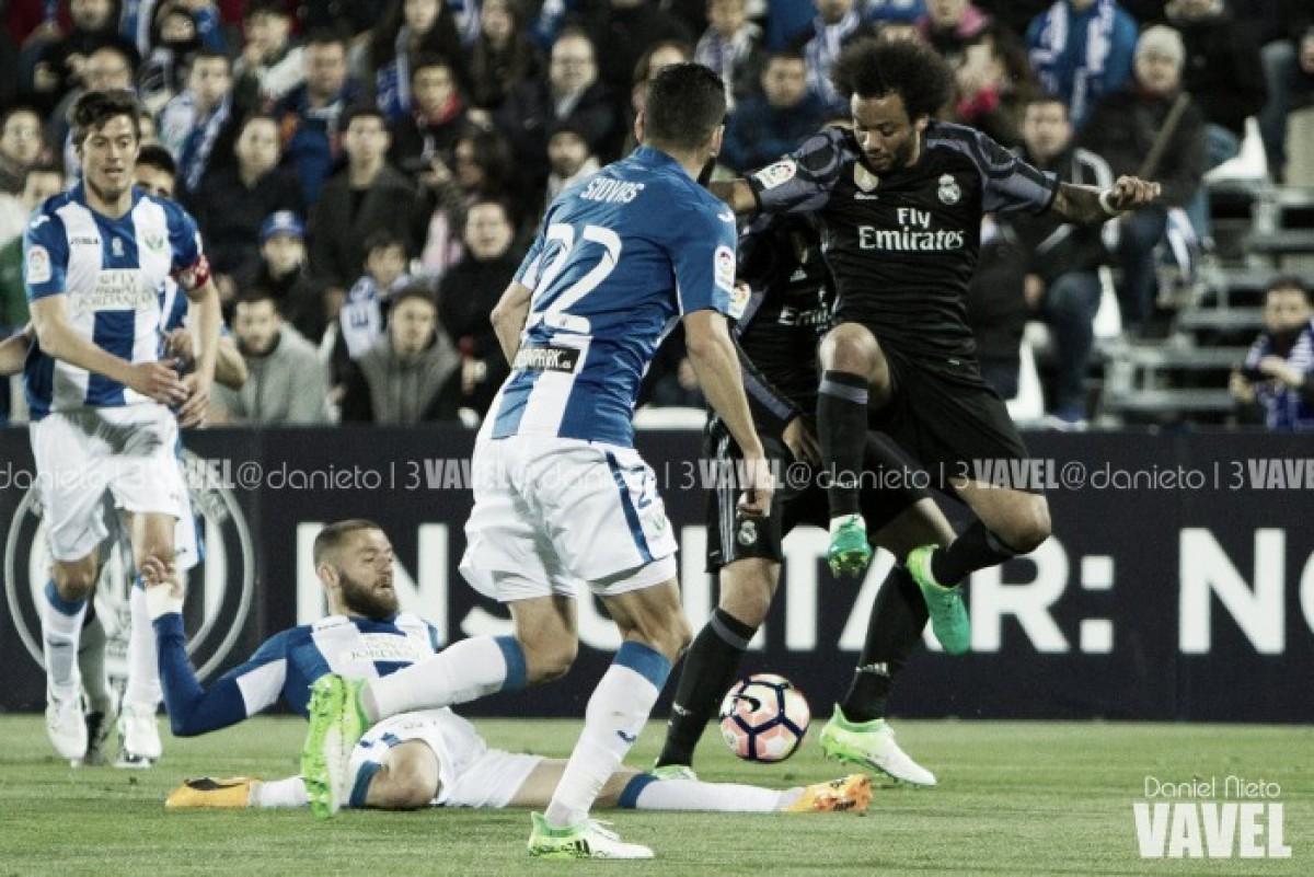 Leganés - Real Madrid: puntuaciones del Leganés, jornada 16 de LaLiga Santander