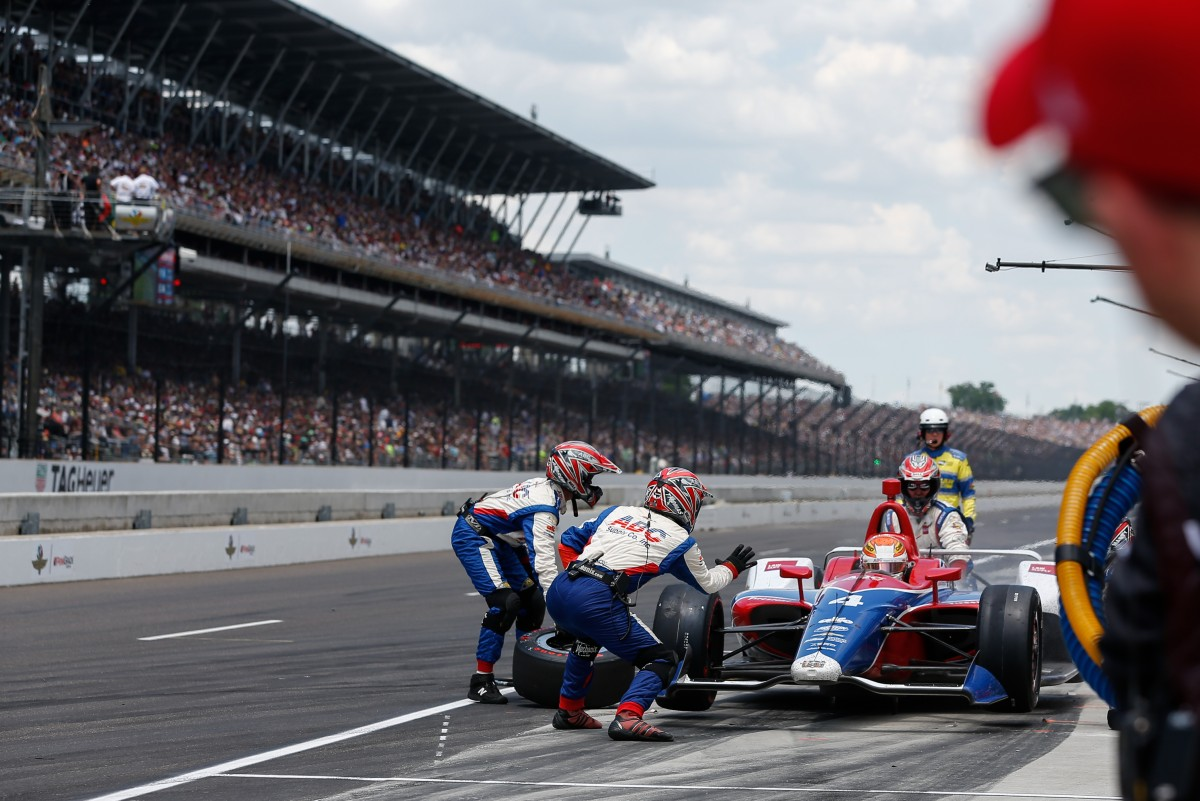 Matheus Leist disputa rodada dupla em Detroit pela Fórmula Indy