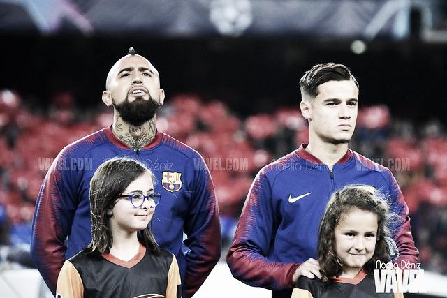 Fotos e imágenes del partido entre el FC Barcelona y el Liverpool de la UEFA Champions League