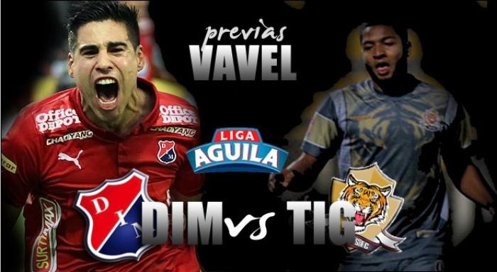 DIM - Tigres F.C: El 'poderoso' saldrá a mantener su invicto en el Atanasio Girardot