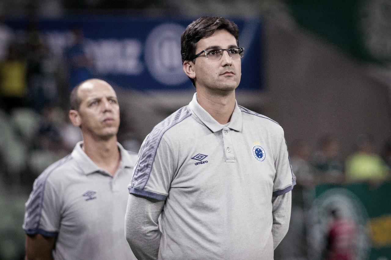 Técnico do Sub-20, Ricardo Resende comandará Cruzeiro diante do Avaí