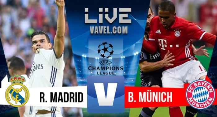 Resultado e Gols Real Madrid 4x2 Bayern na Champions League 2016/17