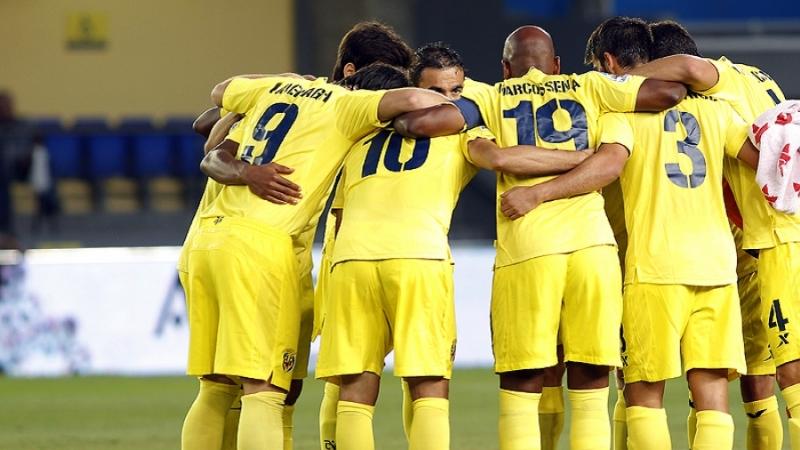 Los jugadores amarillos están muy contentos con la remontada