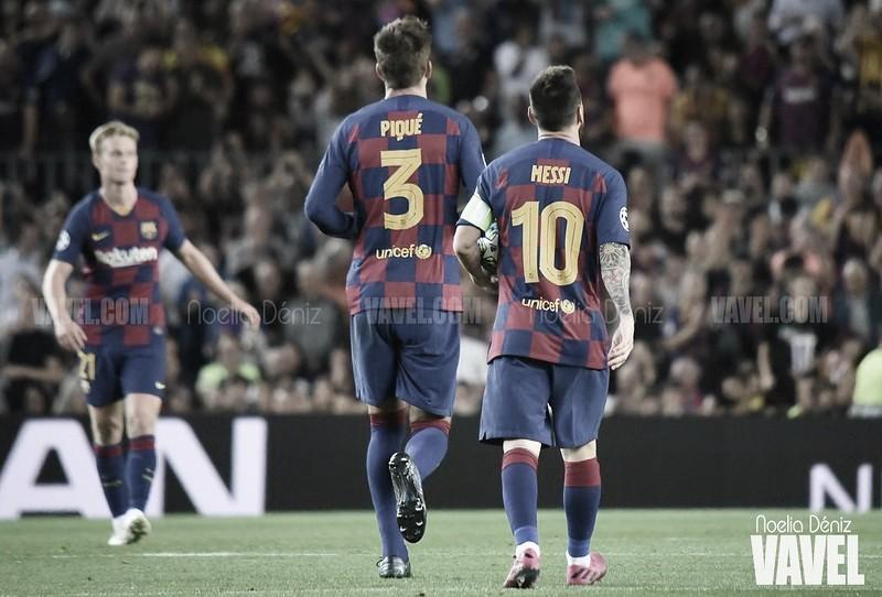 Messi y Piqué: de canteranos a leyendas