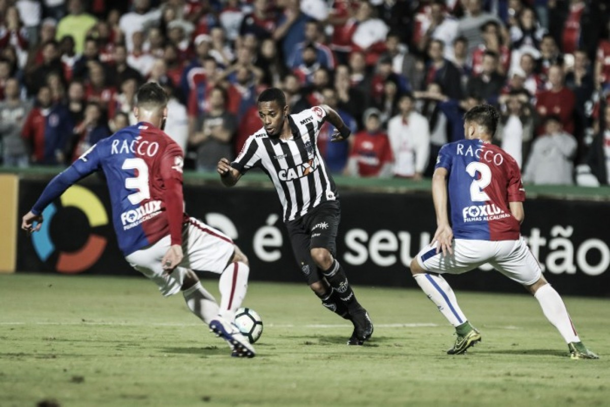Resultado Atlético-MG 2 x 0 Paraná pelo Campeonato Brasileiro 2018