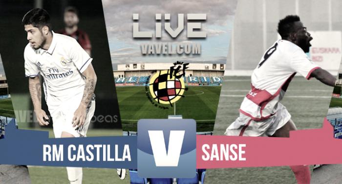 Resultado y goles tras el Castilla 1-1 San Sebastián en Segunda B 2017