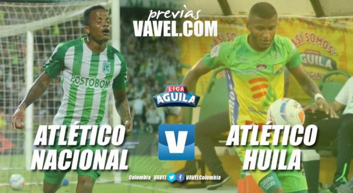 Previa Atlético Nacional vs Atlético Huila: todo por la clasificación