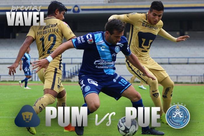 Previa Pumas - Puebla: tres puntos por el orgullo