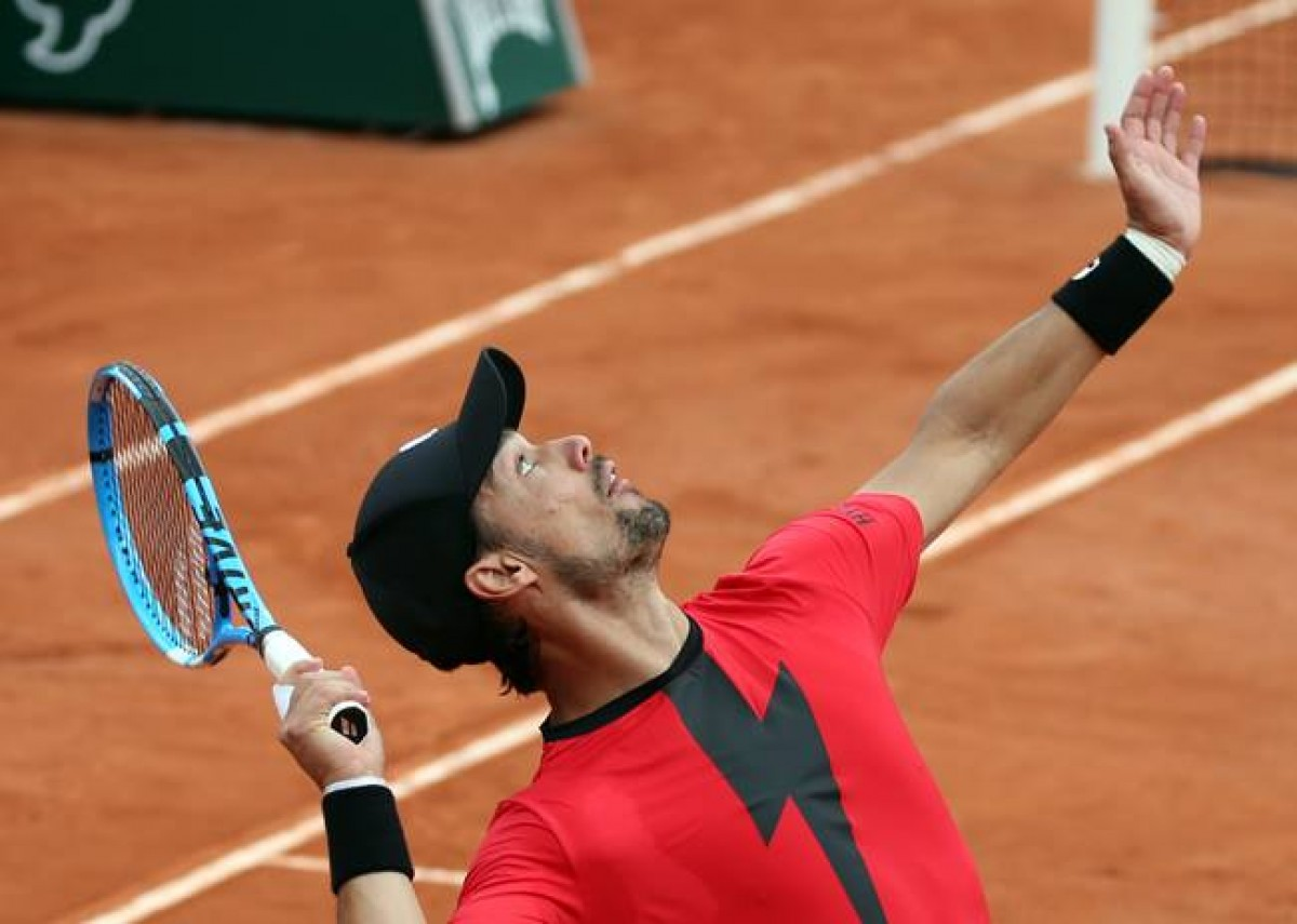 Roland Garros 2018 - Fognini da applausi, Cilic da ovazione