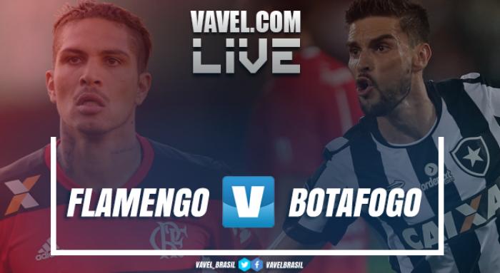 Resultado Botafogo x Flamengo no Campeonato Brasileiro 2017 (2-0)
