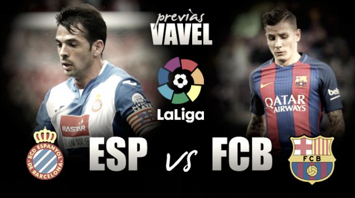 Previa RCD Espanyol- FC Barcelona: sobrevivir al derbi para seguir peleando la Liga