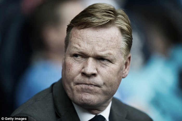 Koeman focused on Palace despite future speculation