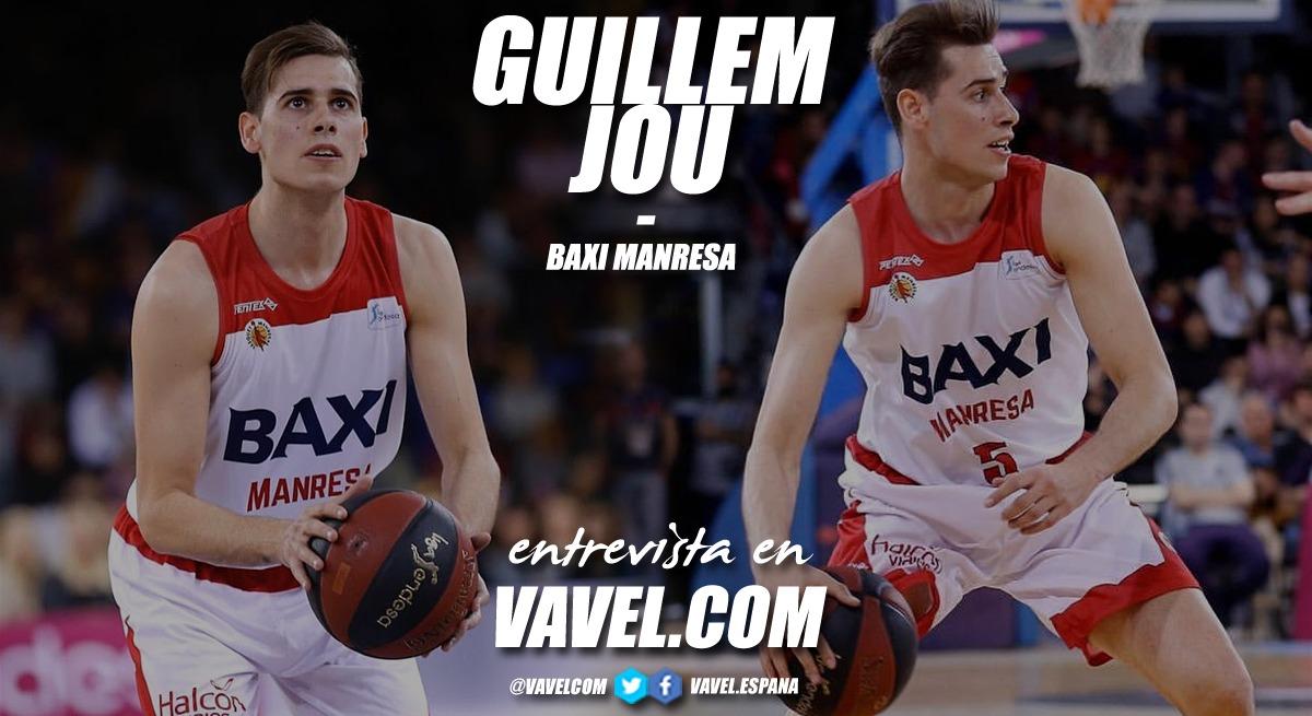 """Entrevista. Guillem Jou: """"Soy un jugador intenso que intenta aportar en todos los aspectos del juego"""""""