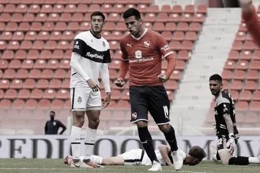 El rojo marcaba su primer gol frente al lobo en el segundo amistoso en el Libertadores de América.